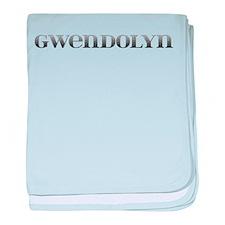 Gwendolyn Carved Metal baby blanket
