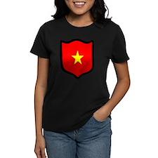 Cute Vietnamese national flag Tee