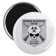 Zombie Response Team: San Jose Division Magnet