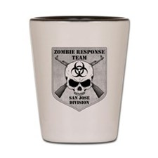 Zombie Response Team: San Jose Division Shot Glass