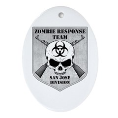 Zombie Response Team: San Jose Division Ornament (