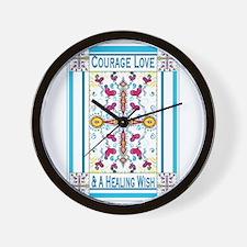 Cute Healing Wall Clock