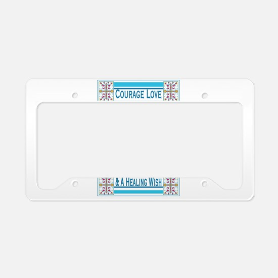 Unique Get well License Plate Holder