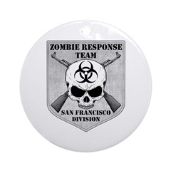 Zombie Response Team: San Francisco Division Ornam