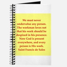 Saint Frances de Sales. Journal