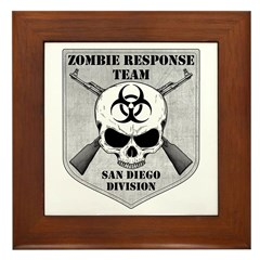 Zombie Response Team: San Diego Division Framed Ti