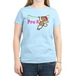 Cute Pre-K Monkey Gift Women's Light T-Shirt