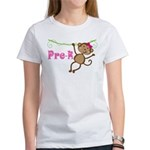 Cute Pre-K Monkey Gift Women's T-Shirt