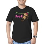 Cute Pre-K Monkey Gift Men's Fitted T-Shirt (dark)