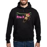 Cute Pre-K Monkey Gift Hoodie (dark)