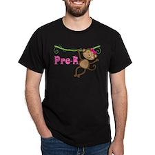 Cute Pre-K Monkey Gift T-Shirt
