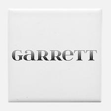 Garrett Carved Metal Tile Coaster