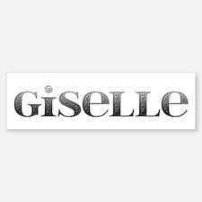 Giselle Carved Metal Bumper Bumper Bumper Sticker