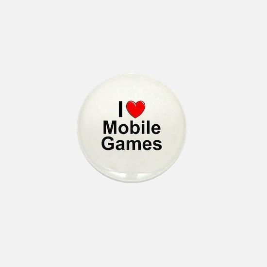 Mobile Games Mini Button