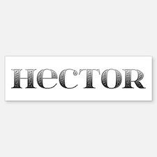 Hector Carved Metal Bumper Bumper Bumper Sticker