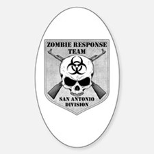 Zombie Response Team: San Antonio Division Decal