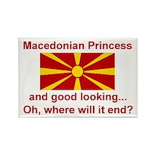 """Macedonian Princess Magnet (3""""x2"""")"""