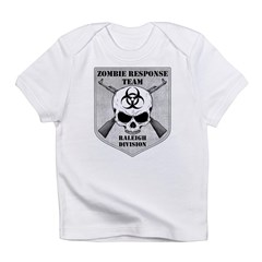 Zombie Response Team: Raleigh Division Infant T-Sh