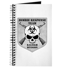 Zombie Response Team: Raleigh Division Journal
