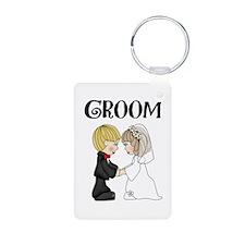 Groom Keychains