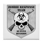 Zombie Response Team: Queens Division Tile Coaster