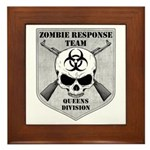 Zombie Response Team: Queens Division Framed Tile