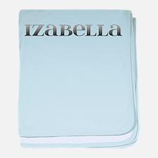 Izabella Carved Metal baby blanket