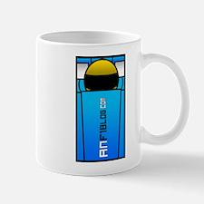 'Cockpit' design mug