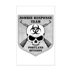 Zombie Response Team: Portland Division Posters