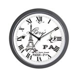 Paris clocks Wall Clocks