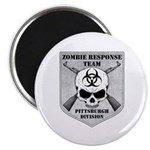 Zombie Response Team: Pittsburgh Division Magnet