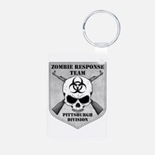 Zombie Response Team: Pittsburgh Division Keychains