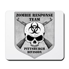 Zombie Response Team: Pittsburgh Division Mousepad