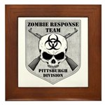 Zombie Response Team: Pittsburgh Division Framed T