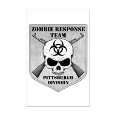 Zombie Response Team: Pittsburgh Division Posters
