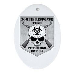 Zombie Response Team: Pittsburgh Division Ornament