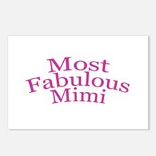 Most Fabulous Mimi Postcards (Package of 8)
