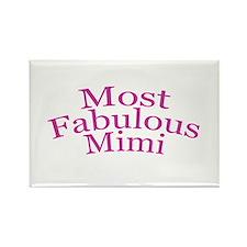 Most Fabulous Mimi Rectangle Magnet
