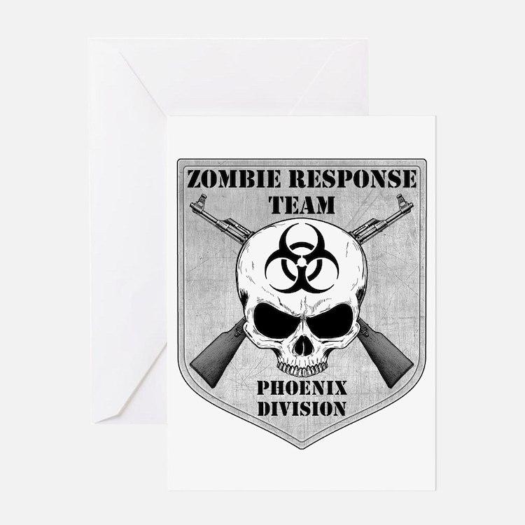 Zombie Response Team: Phoenix Division Greeting Ca