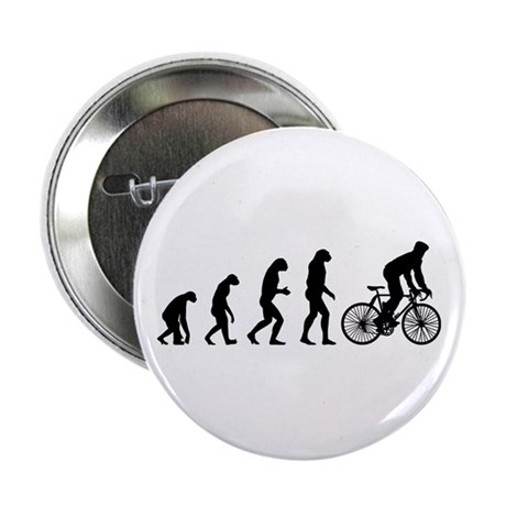 """cycling evolution 2.25"""" Button"""