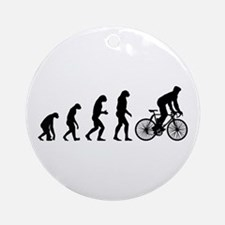 cycling evolution Ornament (Round)