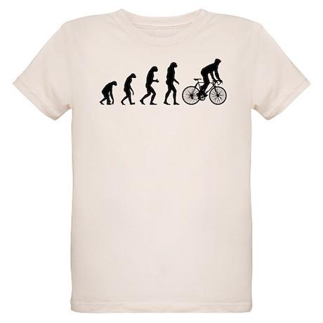 cycling evolution Organic Kids T-Shirt