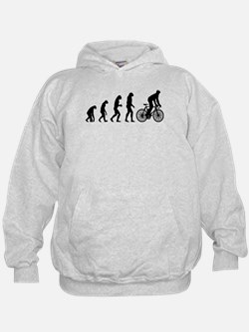 cycling evolution Hoodie