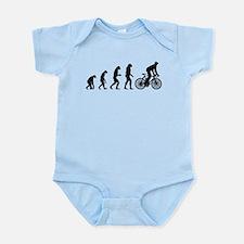cycling evolution Infant Bodysuit