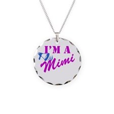 I'm A Mimi Necklace Circle Charm