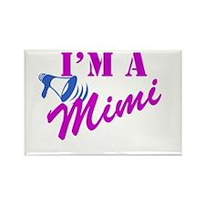 I'm A Mimi Rectangle Magnet