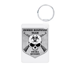 Zombie Response Team: Omaha Division Keychains