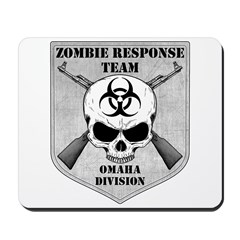 Zombie Response Team: Omaha Division Mousepad