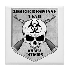 Zombie Response Team: Omaha Division Tile Coaster