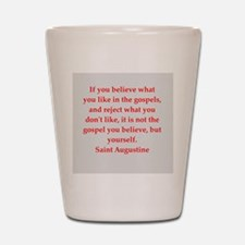 St Augustine Shot Glass